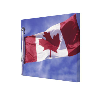 Canadian flag gallery wrap canvas