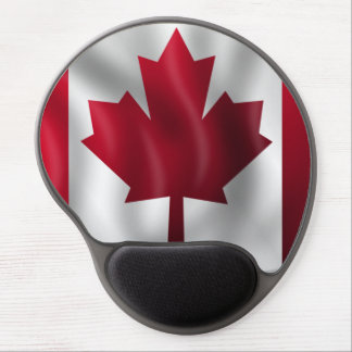 Canadian Flag Gel Mouse Pad