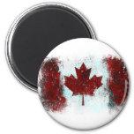 Canadian Flag Graffiti Refrigerator Magnets