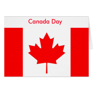 Canadian Flag Greeting Cards Zazzle