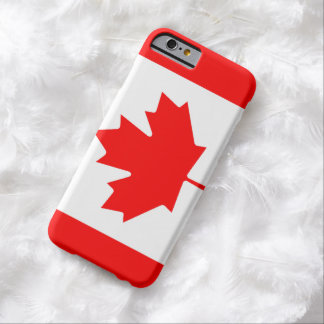 Canadian Flag image for iPhone 6, Barely There Barely There iPhone 6 Case