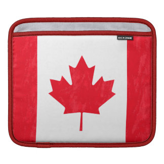 CANADIAN FLAG iPad Sleeve