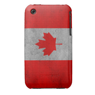 Canadian Flag iPhone 3 Case-Mate Case