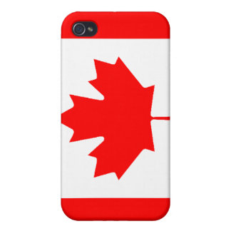 Canadian Flag iPhone 4 Cases