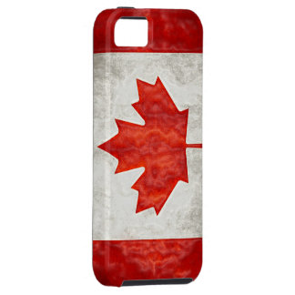 Canadian Flag iPhone 5 Case-Mate Tough iPhone SE/5/5s Case