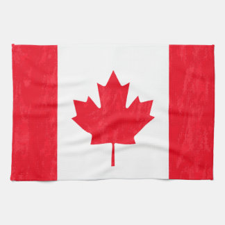 CANADIAN FLAG Kitchen Towel