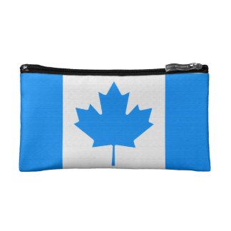 Canadian Flag Makeup Bag