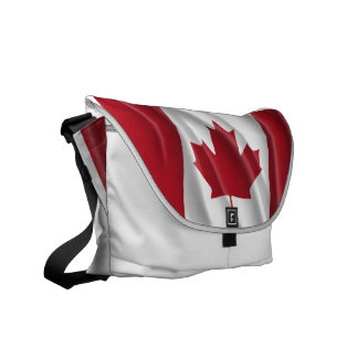 CANADIAN FLAG MESSENGER BAG