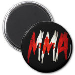 Canadian Flag MMA 2 Inch Round Magnet