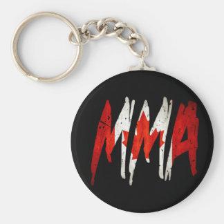 Canadian Flag MMA Keychain