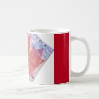 Canadian Flag & Money Mug