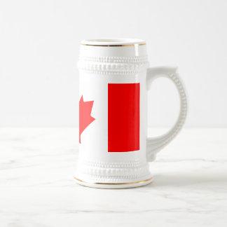 Canadian Flag 18 Oz Beer Stein