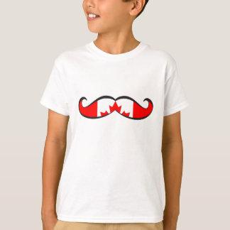 Canadian Flag Mustache T-Shirt