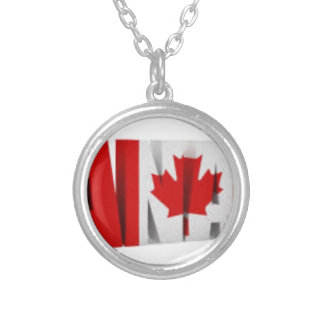 Canadian Flag Pendant