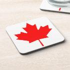 Canadian Flag of Canada Maple Leaf Coaster