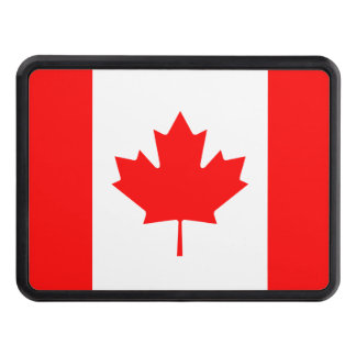 Canadian Flag of Canada Maple Leaf Hitch Covers