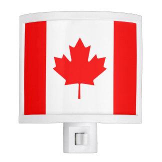 Canadian Flag of Canada Maple Leaf Night Light