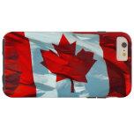 Canadian Flag of Canada Maple Leaf Patriotic Image Tough iPhone 6 Plus Case