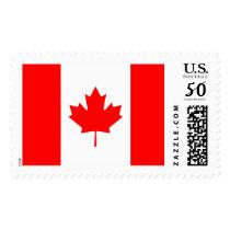 Canadian Flag of Canada Maple Leaf Stamp