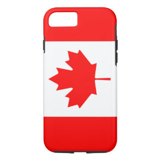 Canadian Flag of Canada Red Maple Leaf iPhone 7 iPhone 7 Case
