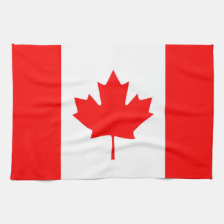 Canadian Flag of Canada Red Maple Leaf Kitchen Tow Towel