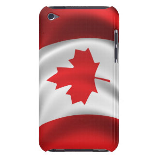 Canadian flag on your iPod touch case