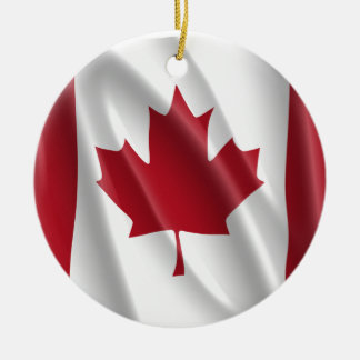 CANADIAN FLAG ORNAMENTS