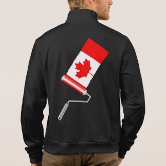 Canadian Flag Paint Roller Jacket