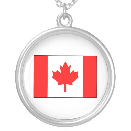 Canadian Flag Pendants