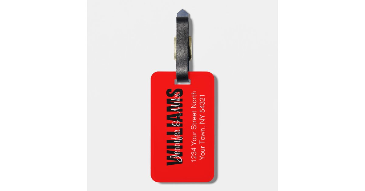 Personalized Luggage Tags Wedding Favors Canada : Canadian Flag Personalized Luggage Tag Zazzle