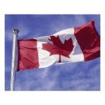 Canadian flag photo print