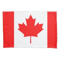 Canadian flag pillowcase for Canada