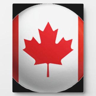Canadian Flag Plaques