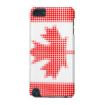 Canadian flag polka dots iPod touch 5G cases