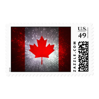 Canadian Flag Stamps