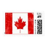 Canadian Flag Postage Stamp