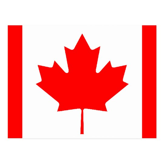 Canadian Flag Postcard