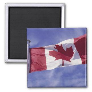 Canadian flag refrigerator magnet