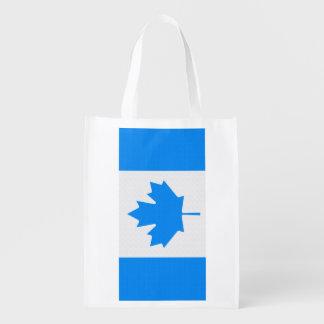 Canadian Flag Reusable Grocery Bag