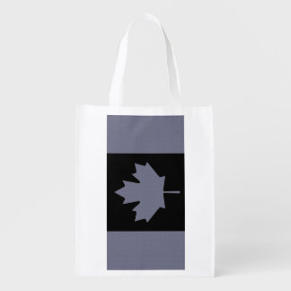 Canadian Flag Reusable Grocery Bags