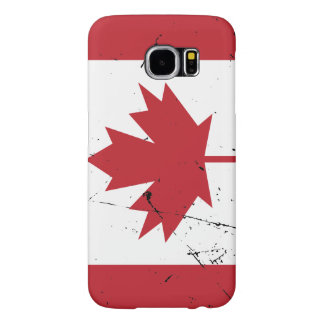 Canadian Flag Samsung Galaxy S6 Case