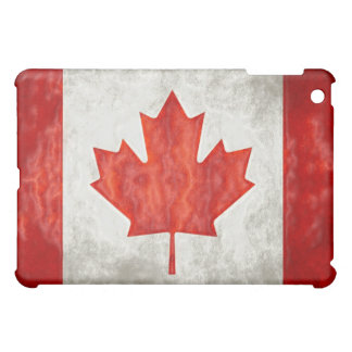 Canadian Flag Speck iPad Fitted Fabric-Inlaid Hard Cover For The iPad Mini