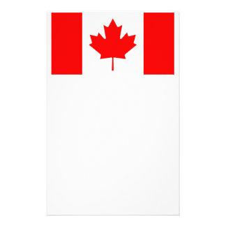 Canadian Flag Stationery