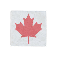 Canadian Flag Stone Magnet at Zazzle