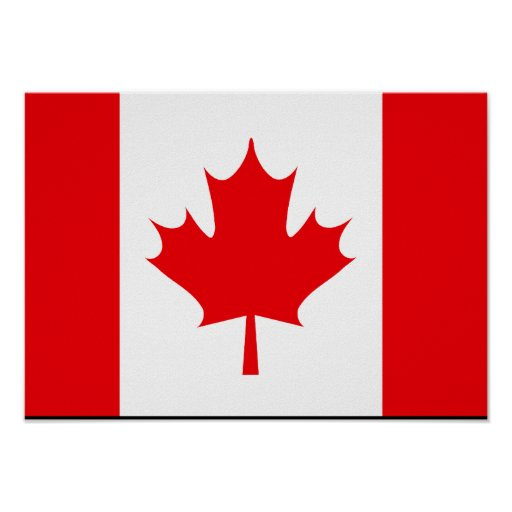 Canadian Flag T-shirts and Gifts Poster