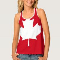 Canadian Flag Tank Top