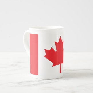 Canadian Flag Tea Cup
