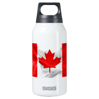 Canadian Flag Thermos Water Bottle