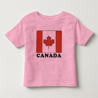 Canadian Flag Toddler T Shirt