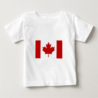 Canadian Flag Toddlers T-Shirt
